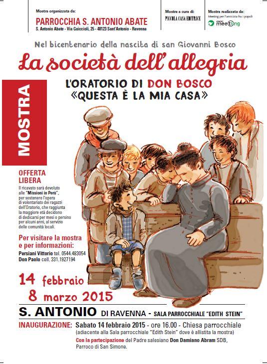 San Simone Calendario.La Societa Dell Allegria L Oratorio Di Don Bosco Questa E